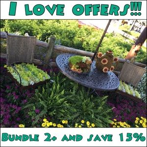 🌻I love offers!!! Bundle 2+ items and save 15%🌻